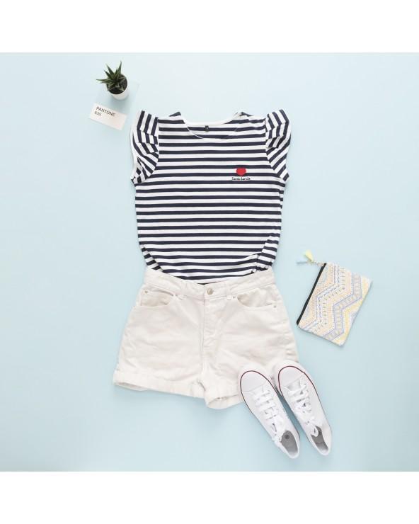 Camiseta Siente Bonito - Color Navy