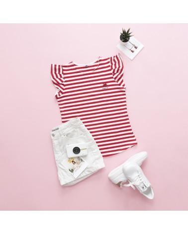 Camiseta Muy Mía - Color Rojo