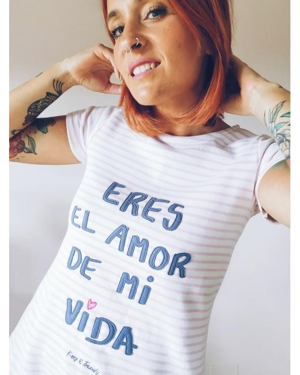 VESTIDO AMOR DE MI VIDA RAYAS