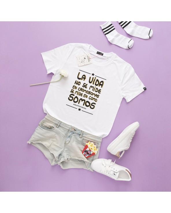 Camiseta Cromosomas - Parte de los beneficios de esta camiseta irán destinados a un proyecto desarrollado por DOWN ESPAÑA