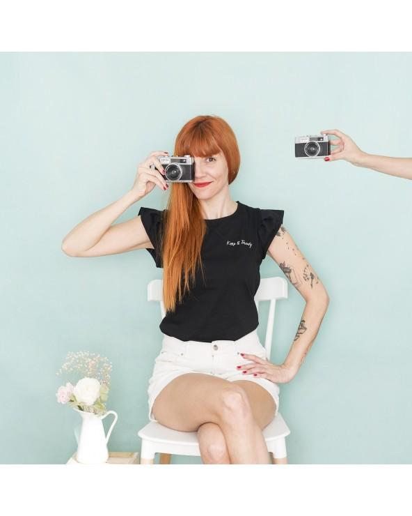 Camiseta Keep Básica - Negra