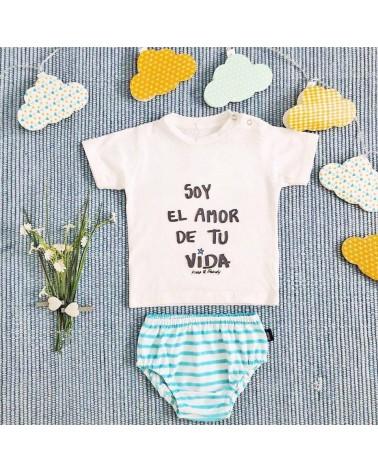 CAMISETA SOY AMOR DE TU VIDA INFANTIL