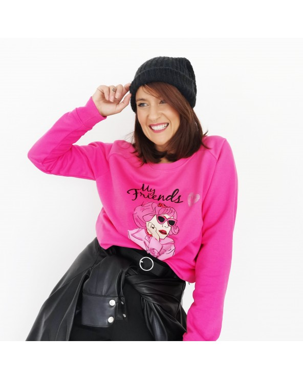 SUDADERA FRENCHY GREASE
