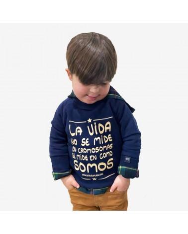 SUDADERA CROMOSOMAS INFANTIL