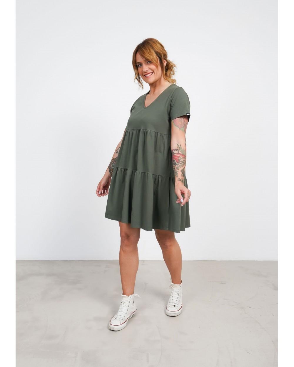 Vestido Básico Keep Lovers Verde