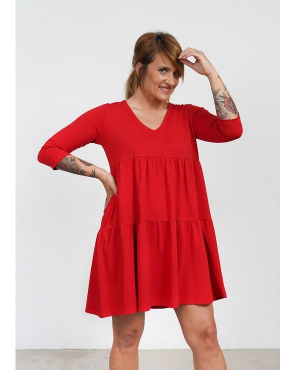Vestido Básico Keep Lovers Rojo