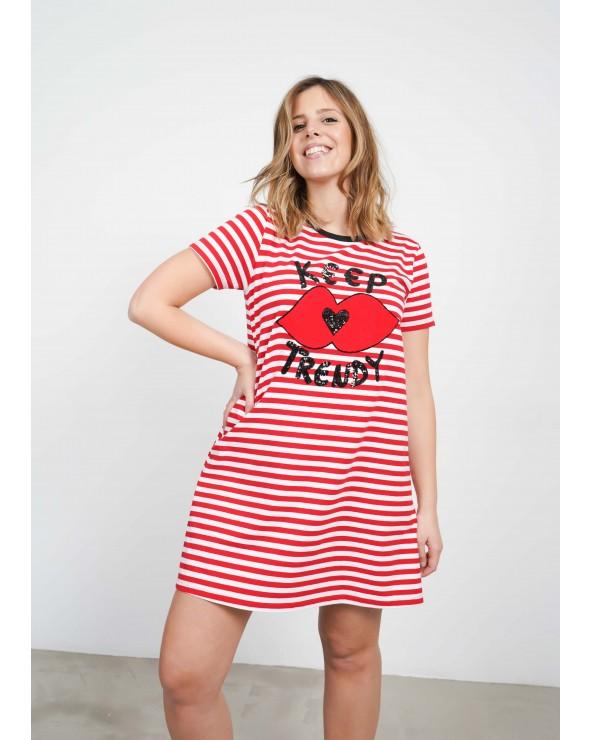 Vestido Keep Lovers Raya Roja