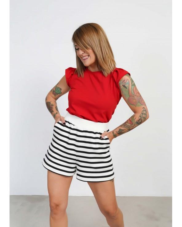 Shorts Rayas Keep Lovers
