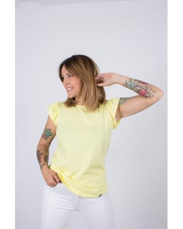 Camiseta básica Keep Lovers Amarilla