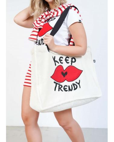 Bolso Shopper Keep Lovers (tejido toalla)
